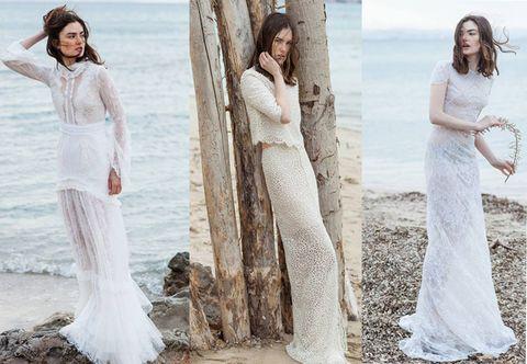 Christos Costarellos: il designer greco presenta a Milano la collezione 2016 di abiti da sposa