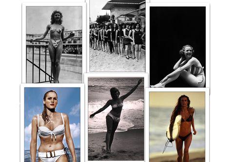 Vendita Costumi Da Bagno Vintage : Bikini: la sua storia in 15 foto