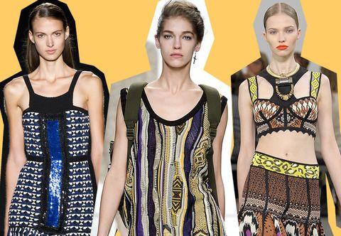 Style, Waist, Dress, Pattern, Fashion, Neck, One-piece garment, Day dress, Abdomen, Fashion model,