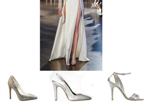 Footwear, High heels, Joint, Basic pump, Fashion, One-piece garment, Sandal, Beige, Tan, Street fashion,
