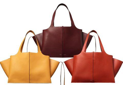 e37ad723e3 Borse estate 2016: Céline lancia la Tri-fold come pre-collezione autunno  2016. Un modello di shopping bag in vitello naturale caratterizzato,  inoltre, ...