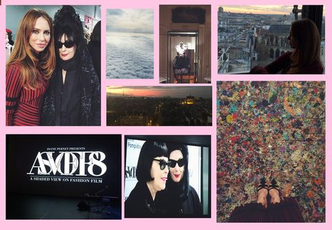 Eyewear, Head, Vision care, Sunglasses, Goggles, Black hair, Collage, Jacket, Youth, Flash photography,