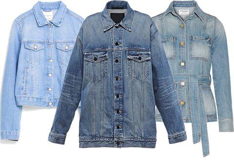 6a31d9991931de Moda estate 2016: è giacca di jeans mania. Larga e oversize oppure corta e  slim il giubbotto di jeans è sicuramente il capo che completa il vostro ...