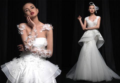 Simone Marulli: la nuova collezione di abiti da sposa si ispira all'eleganza discreta del Giappone