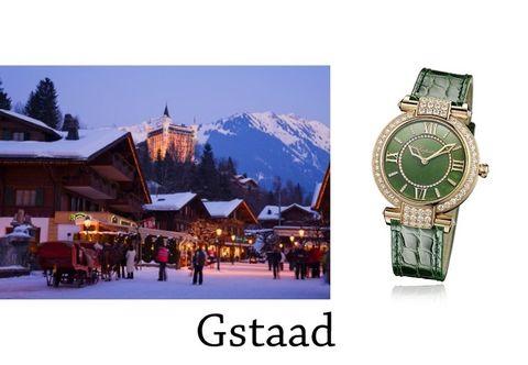 Watch, Mountain range, Winter, Analog watch, Font, Hill station, World, Watch accessory, Snow, Clock,
