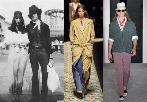 Hat, Sleeve, Style, Collar, Fashion, Waist, Blazer, Fashion model, Vintage clothing, Street fashion,