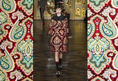 Human, Pattern, Textile, Human leg, Dress, Style, Flooring, Fashion, Street fashion, One-piece garment,
