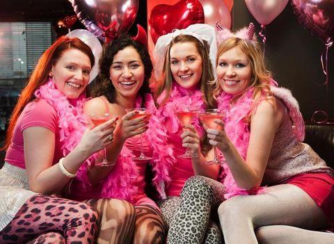 Human, Mouth, Smile, Eye, Balloon, Happy, Pink, Party supply, Facial expression, Magenta,