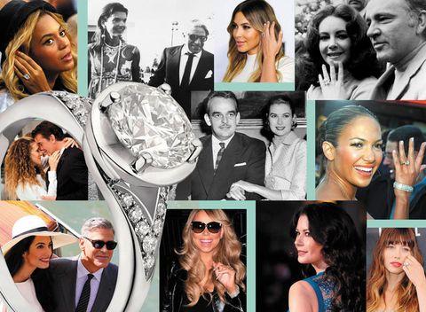 Anelli di fidanzamento delle star: quando il diamante (a molti carati) è per sempre