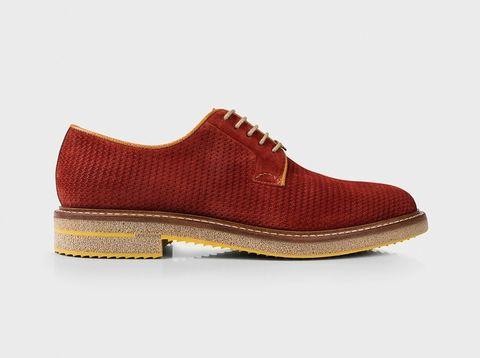 Footwear, Product, Brown, Tan, Carmine, Maroon, Beige, Dress shoe, Fashion design, Brand,