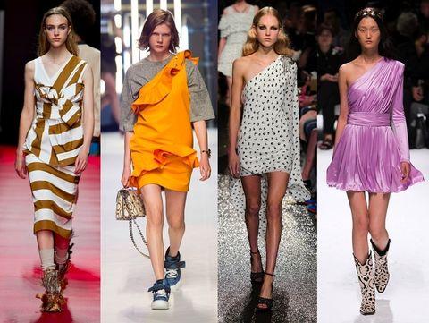 Clothing, Footwear, Leg, Dress, Shoulder, Style, Fashion model, One-piece garment, Fashion, Thigh,