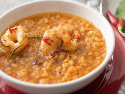 Food, Ingredient, Stew, Recipe, Dish, Serveware, Dishware, Produce, Spoon, Cuisine,