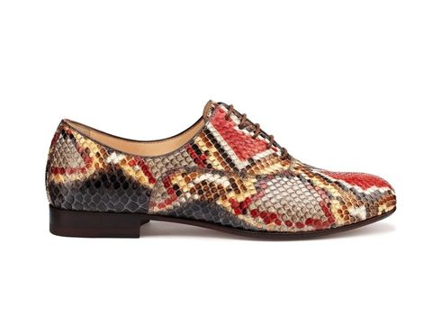 Footwear, Product, Brown, Shoe, White, Red, Carmine, Pattern, Fashion, Maroon,