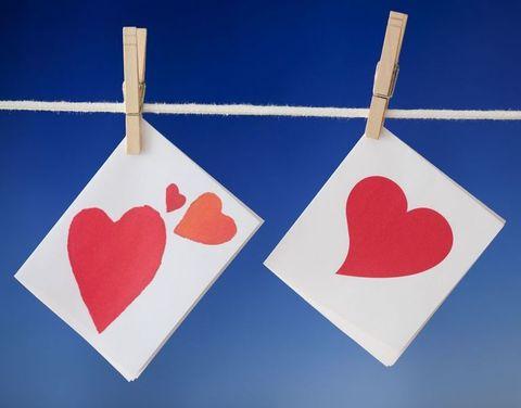 Red, Pattern, Line, Heart, Carmine, Electric blue, Cobalt blue, Coquelicot, Design, Creative arts,