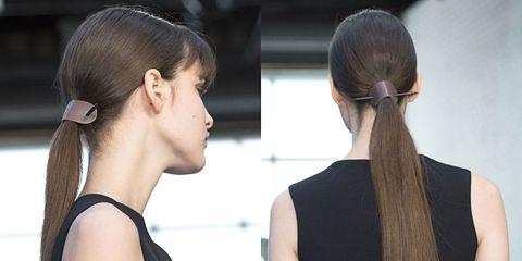 Hair, Head, Ear, Hairstyle, Earrings, Eyelash, Style, Beauty, Fashion, Temple,
