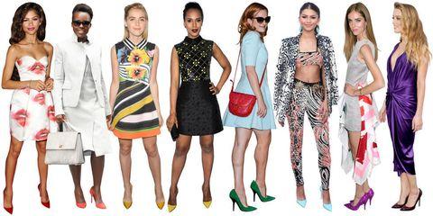 Clothing, Eyewear, Vision care, Leg, Dress, Shoulder, Red, Sunglasses, Outerwear, Bag,