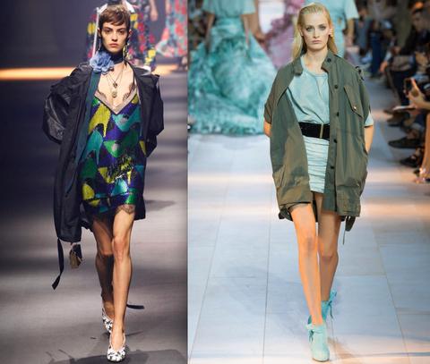 Footwear, Fashion show, Outerwear, Runway, Style, Fashion model, Winter, Street fashion, Fashion, Electric blue,