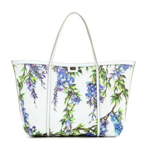 Blue, Bag, Luggage and bags, Shoulder bag, Lavender, Home accessories, Aqua, Wildflower, Floral design, Creative arts,