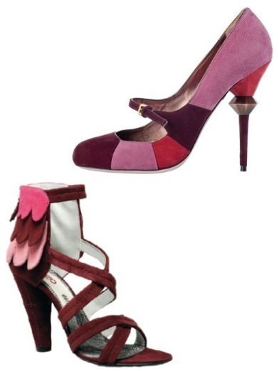 Footwear, Product, High heels, Red, Sandal, Pink, Basic pump, Magenta, Maroon, Fashion,