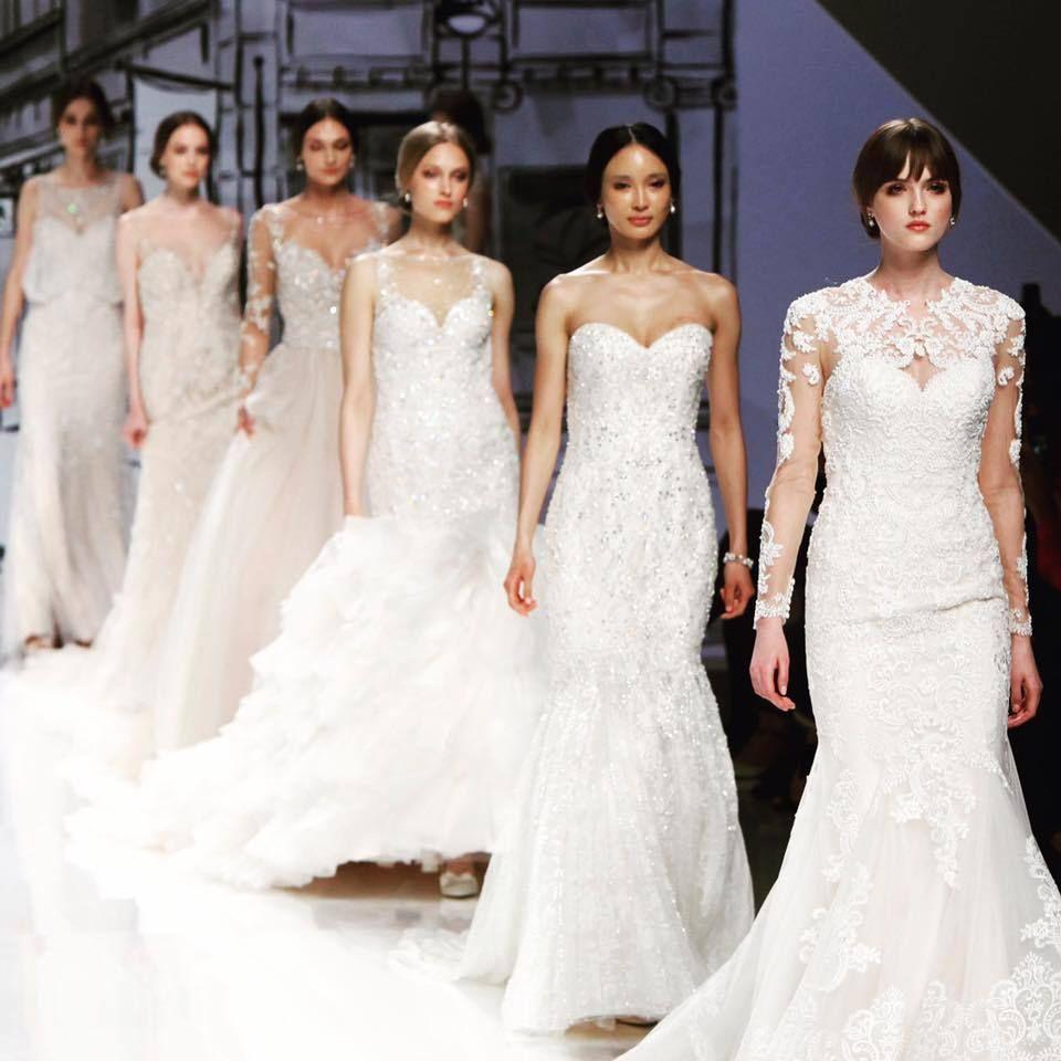 a6ec890344b3 Le sfilate di abiti da sposa 2017