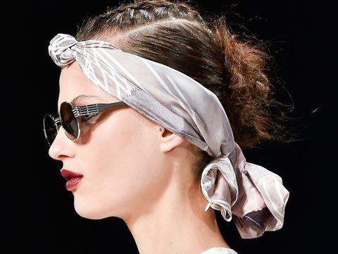 Eyewear, Ear, Hairstyle, Chin, Earrings, Fashion accessory, Style, Jaw, Beauty, Costume accessory,