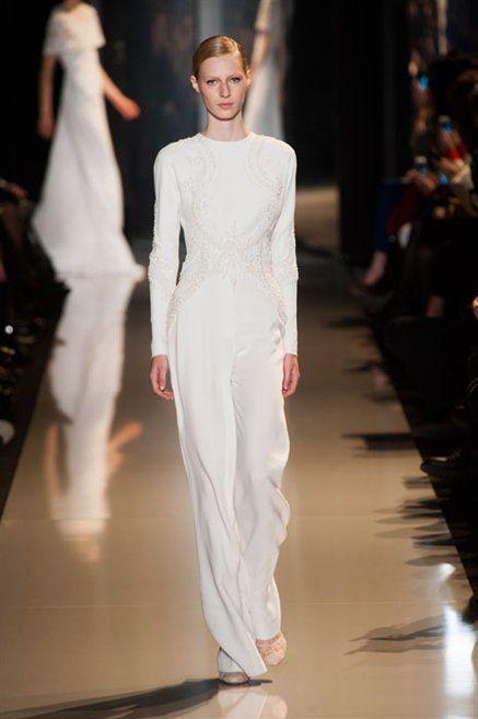 Fashion show, Shoulder, Runway, Joint, Fashion model, Formal wear, Dress, Style, Model, Fashion,