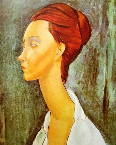 Human, Lip, Cheek, Forehead, Art, Paint, Watercolor paint, Artwork, Self-portrait, Painting,