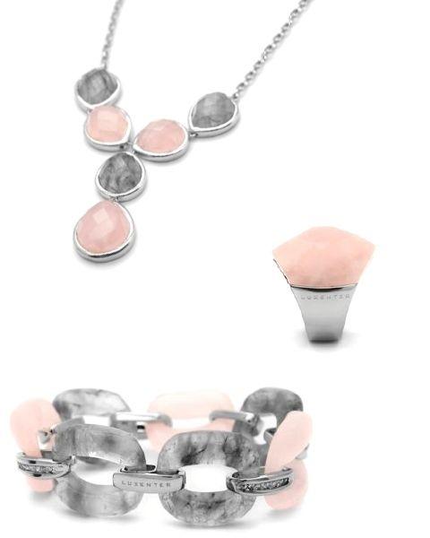 Jewellery, Body jewelry, Metal, Natural material, Silver, Gemstone, Circle, Peach, Earrings, Transparent material,