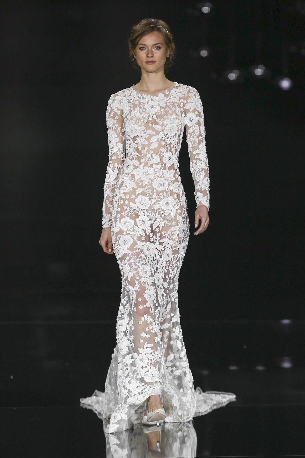10 abiti da sposa in pizzo di tendenza per la moda 2017 267bcd10626
