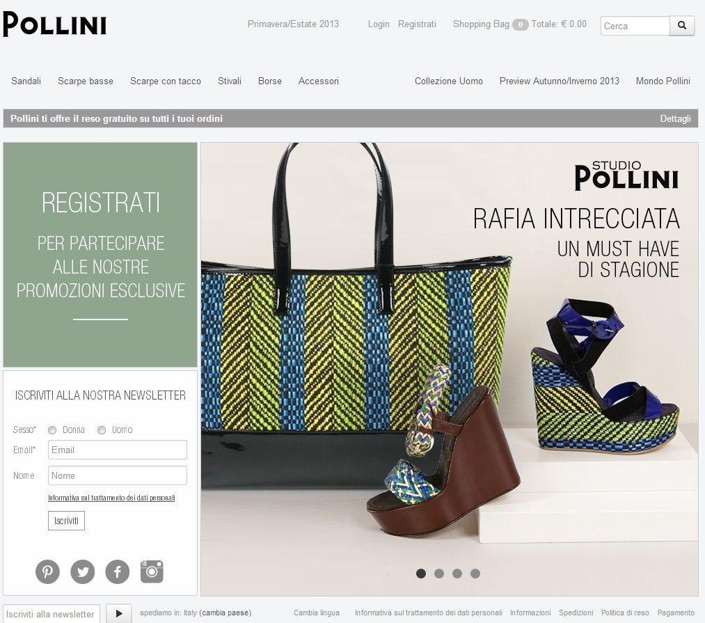 Versione Presenta Sito Pollini Del Nuova La OiTXZPku