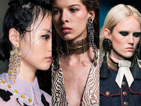 Hair, Face, Head, Ear, Nose, Earrings, Hairstyle, Eyebrow, Eyelash, Fashion accessory,