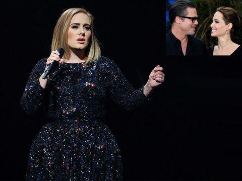 Adele-dedica-il-concerto-a-Brad-Pitt-e-Angelina-Jolie-La-fine-di-un-era
