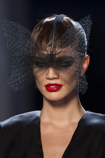 Lip, Hairstyle, Chin, Eyebrow, Eyelash, Style, Earrings, Eye shadow, Headgear, Fashion,