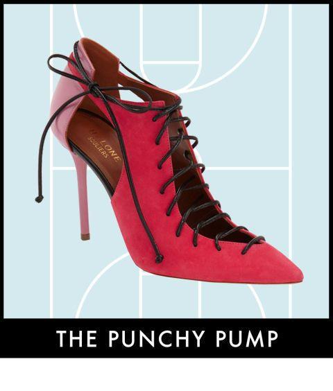 Footwear, Product, Shoe, Red, Line, Font, Carmine, Maroon, Tan, Dancing shoe,