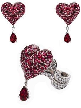 Red, Pattern, Pink, Heart, Magenta, Love, Carmine, Jewellery, Still life photography, Body jewelry,