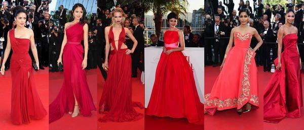 Abiti rossi red carpet