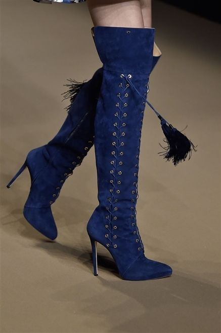 Blue, Joint, Electric blue, Costume accessory, Cobalt blue, Boot, Knee-high boot, Glove, Costume, Riding boot,