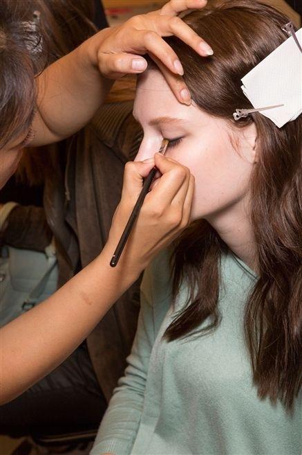 Brown, Hairstyle, Skin, Eyebrow, Eyelash, Beauty salon, Makeup artist, Style, Nail, Beauty,