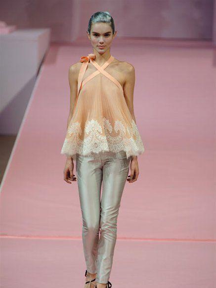 Clothing, Fashion show, Shoulder, Joint, Runway, Fashion model, Style, Fashion, Neck, Model,