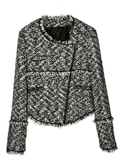 Sleeve, Textile, Collar, Sweater, Black, Pattern, Clothes hanger, Woolen, Pattern, Fashion design,