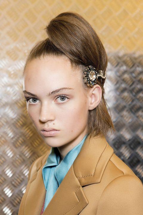 Face, Ear, Nose, Lip, Hairstyle, Collar, Skin, Chin, Forehead, Eyebrow,