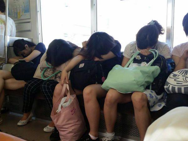 Nipponico treno pubblico sesso