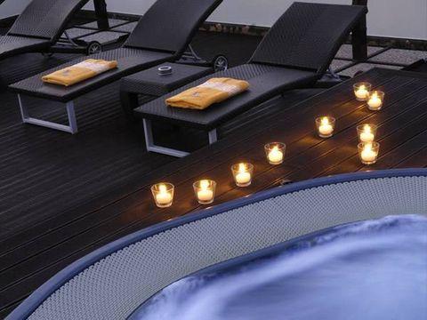 Flooring, Floor, Coffee table, Armrest, Laminate flooring, Wood flooring, Outdoor furniture, Mat, studio couch,