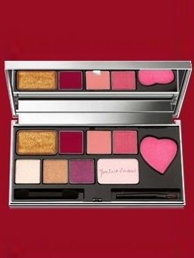 Red, Eye shadow, Pink, Magenta, Organ, Cosmetics, Tints and shades, Lipstick, Rectangle, Paint,