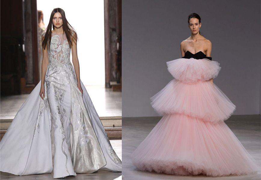 5038d6691bfa I 10 abiti da sposa sulla passerella dell haute couture