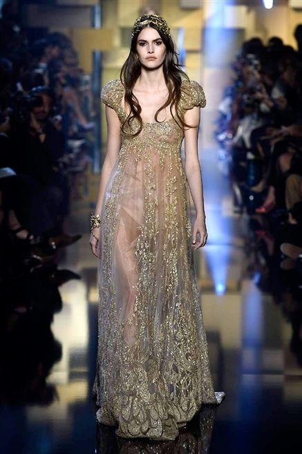 Fashion show, Shoulder, Dress, Runway, Fashion model, Style, One-piece garment, Formal wear, Fashion, Model,