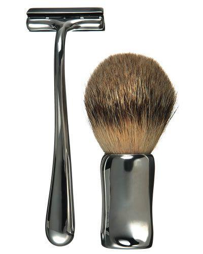 Brush, Razor, Musical instrument accessory, Metal, Hand tool, Household supply, Steel, Silver, Aluminium, Personal care,