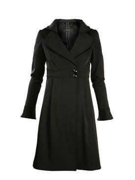 Collar, Sleeve, Textile, Formal wear, Coat, Style, Pattern, Blazer, Fashion, Black,