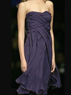 Clothing, Yellow, Dress, Shoulder, Joint, Strapless dress, Formal wear, One-piece garment, Purple, Fashion,
