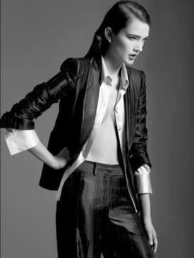 new style 9f0ef 566c8 Lo stile di Elle interpretato da Giorgio Armani